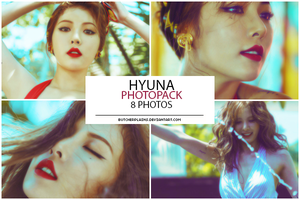 Hyuna - photopack #02 by butcherplains