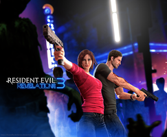 Resident Evil Revelations 3 - Infected Night Club by LitoPerezito