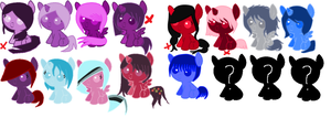 Foal adopts ( open) by Shadowbane-kimikaro
