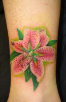 lily tattoo 3 by asussman