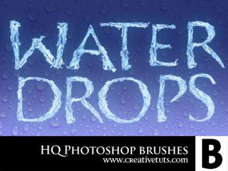 HQ Water Drop PS Brushes - B by Grasycho