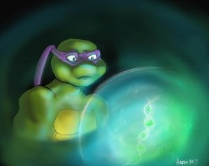 TMNT FanFic 'The Bonds between Turtle and Pet' by Arhasen on DeviantArt