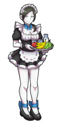 maid fit trainer by akairiot