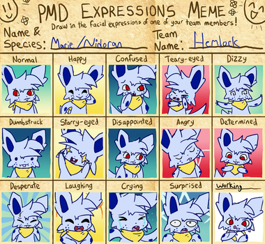 Marie's Expressions by Cocoron