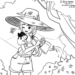 garden witch by yume