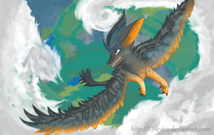 Triton Dragon by LittleYtra