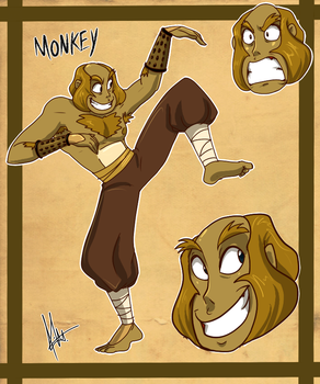 Human Monkey by yuramec