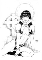 Vampirella by Leomatos2014