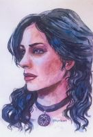 Yennefer by kyrlu