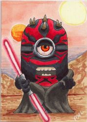 Darth Maul Minion by Purple-Pencil