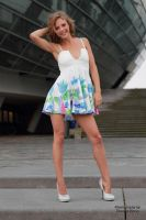 Anna in a summer dress 7 by PhotographyThomasKru