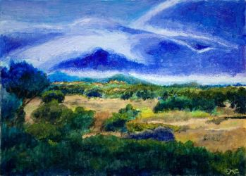 The View From Ryan Ranch in Trance (2) by emcorpus