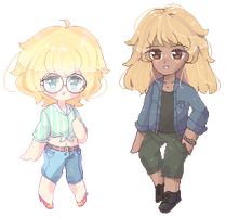 Pixel commission | Fayleaf by SparksTea