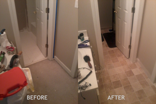 Renovated Bathroom B/A #2 by CptCool2
