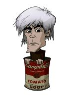 CARICATURES: ANDY WARHOL by Zuccarello