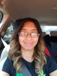 Check out my umbre blonde half dyed hair by Magic-Kristina-KW