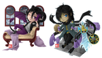 C - Detrich and Darin chibi by zero0810