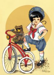 I want to Ride my Tricycle by BlueBirdie