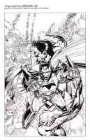 Superman Batman Ink Sample 2 by jrldorado