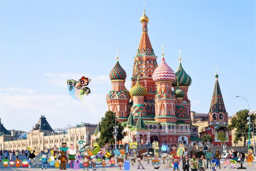 Crossover and Game City World Tour Moscow by xxphilipshow547xx