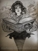 Day 6/7 the apprentice's book of shadows by DoomMistress