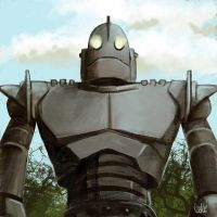 Daily Sketches Iron Giant by fedde
