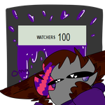 100 Watchers Event! by Cosmic-Avian