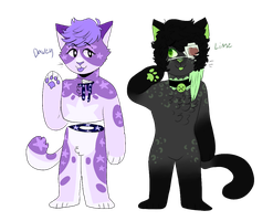 Davey n Lime up for trade(closed) by cryptidroad