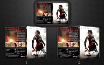 3D DVD case template by ShesaCai