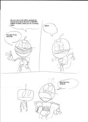 Playstation dimensional crysis: Issue 2 page 4 by irkenartwork12