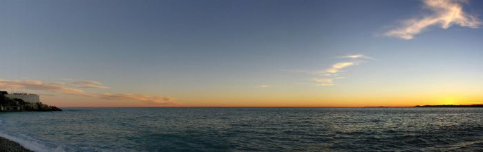 Sunset at Nice by Eligius57