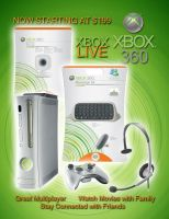 Xbox 360 half Page Ad 2 by BrittanysDesigns