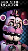 Fnaf sister location wallpaper funtime freddy by GareBearArt1