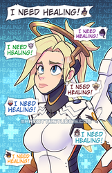 Mercy - Life as a Solo Healer [Overwatch] by marcotte