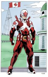 Captain Canuck by SteelhavenStudio