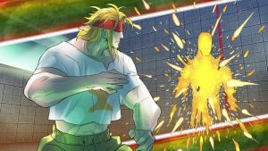 STREET FIGHTER V - Character History - Alex (8) by Zeref-ftx