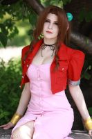 Aerith Cosplay by EmilGrind