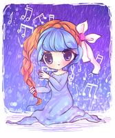 Musical Hair by mochatchi