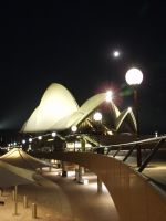 Sydney Opera House at Night by nedg67