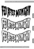 Fed After Midnight - LOGO_RAR by Kaudallator