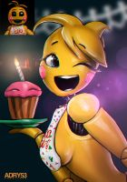 Toy Chica - FNAF 2 by Adry53