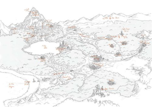 Gensokyo Map by Larb by TheFantasyChronicles