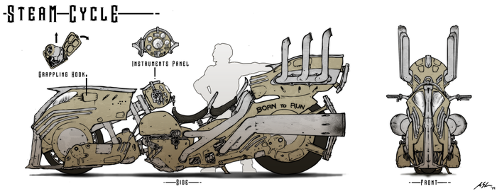 SteamCycle by dfacto
