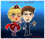 Jude and Tony Chibis by TRALLT