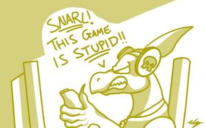 Stith can't play video games... by Adam-Clowery