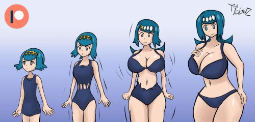 Lana transform into her mother by ThatFreakGivz