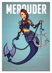 Commission - Merauder by Femmes-Fatales