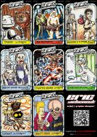 OSWCC Sketch Cards by siebo7