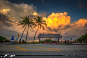 Thunder-Clouds-Over-Juno-Beach-Park-at-the-Pier by CaptainKimo