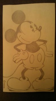 Old Mickey Mouse by beefteriyaki